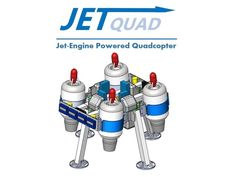 FusionFlight LLC (deleted) is raising funds for JetQuad - Jet-Engine Powered Quadcopter on Kickstarter! The JetQuad is a high-speed drone powered by four small jet-engines. Electric Jet Engine, Diy Electric Car, Drones, Drone Quadcopter, Small Jet Engine, Metal Shaping, Aerospace Engineering, Mechanical Engineering, Drone Technology