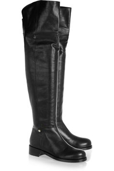 4c3c43811c9 Jimmy Choo - Deron polished leather over-the-knee boots