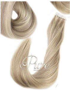 We have the worlds' largest & most beautiful selection of luxury blonde and foiled hair extensions available for express shipping Australia & worldwide. Invisible Hair Extensions, Blonde Hair Extensions, Tape In Hair Extensions, Icy Blonde, Shades Of Blonde, Blonde Highlights, Hair Extensions Australia, Tapas, Luxury Hair