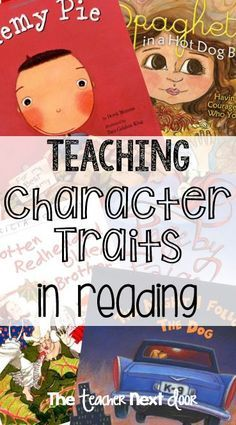 Teaching about character traits in reading can be challenging but fun. This resource links to lots of great ideas to help me teach character traits in reading to improve reading comprehension. Improve Reading Comprehension, Reading Strategies, Reading Activities, Teaching Reading, Guided Reading, Teaching Ideas, Learning, Comprehension Strategies, Close Reading