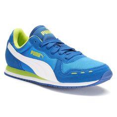aa3d91b54ba PUMA Cabana Racer Jr. Boys  Mesh Athletic Shoes
