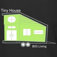 Tiny House Tiny Living the New Big Tiny House Big Living, How To Raise Money, How To Make, Sims, Men's Fashion, Sweatshirt, House Styles, Clothing, Design