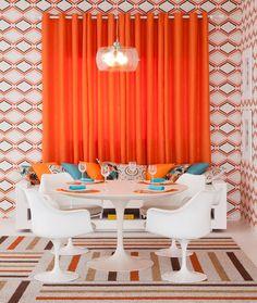 piso com estampa combina com parede com estampa para cozinha descolada - Pesquisa Google