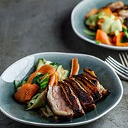 Hoisin Marinated Duck