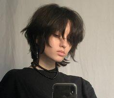 Cut My Hair, Hair Cuts, Hair Inspo, Hair Inspiration, Androgynous Hair, Mullet Hairstyle, Shot Hair Styles, Fluffy Hair, Hair Reference