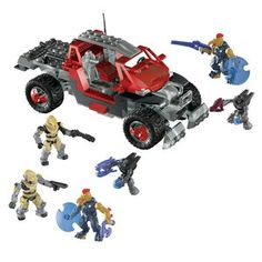 Halo Unsc Siege Bike From Mega Bloks Lego And Xbox