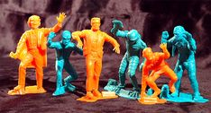 Vintage Monster Statues by Marx Toys Cool Monsters, Famous Monsters, Classic Monsters, Vintage Movies, Vintage Toys, Monster Toys, Monster Mash, Monster Squad, Thor