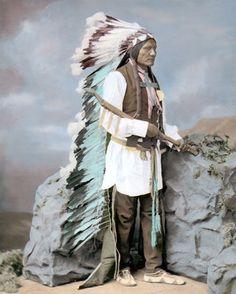 He Dog 1877 Native American Indian LAKOTA Sioux