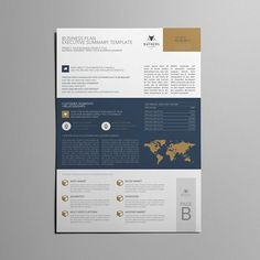 Executive summary example executive summary templates pinterest business plan executive summary by keboto on creativemarket wajeb Image collections