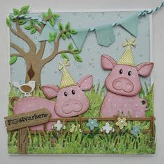 Made by Nicolette: Party piglets