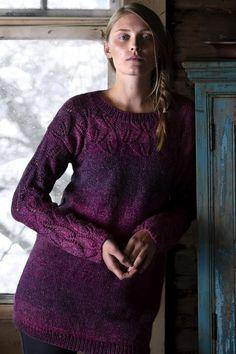 Free Knitting Pattern for a Women's Lace Tunic in Variegated Yarn Free Knitting Patterns For Women, Christmas Knitting Patterns, Tunic Pattern, Free Pattern, Lace Patterns, Sweater Patterns, Stitch Patterns, Crochet Patterns, Lace Tunic