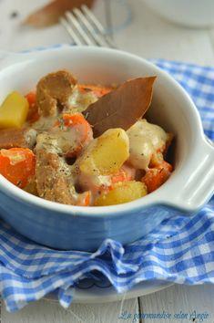 recette seitan - blanquette de seitan 1 Raw Food Recipes, Vegetarian Recipes, Vegan Food, Fodmap, Pot Roast, Superfood, Tofu, Love Food, Diet
