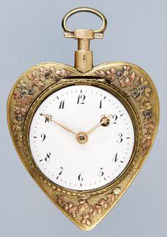 Heart-shaped watch