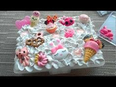 So I've just recently got into a new hobby, which is famous among Japanese girls, and its known as deco den (being the abbreviation f. Kawaii Diy, Kawaii Stuff, Diy And Crafts, Arts And Crafts, Diy Phone Case, Phone Cases, Cute Clay, Clay Food, Altered Boxes