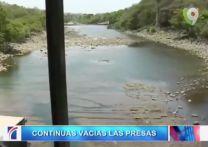 Niveles De Agua De Las Presas Continúan Bajando De Manera Alarmante A Pesar De Lluvias Registradas #Video