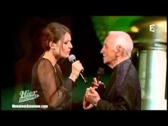 Elodie Frégé & Charles Aznavour - Parlez-moi d'amour - Lucienne Boyer - Olympia 2013 - YouTube