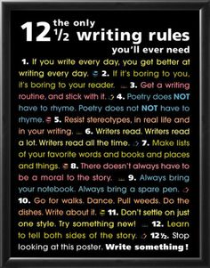 Always read this when I have writer's block.
