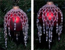 Sparkling Ornament Cover by Rita Sova