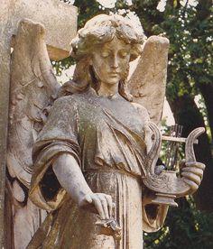 Highgate Cemetery StM-Angel6-2 by starry diadem, via Flickr
