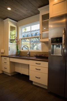 Team Blue Created A Fully ADA Accessible Kitchen In Tonightu0027s Episode Of  American Dream Builders.