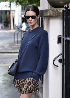 Leopard print in small doses: my guilty pleasure.