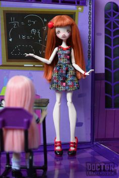 monster high teachers