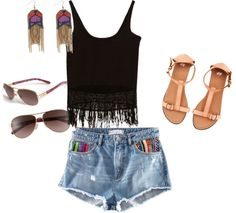 I love summer!, created by alexandraalbritton on Polyvore