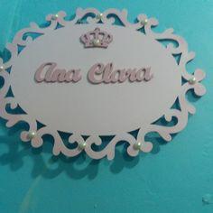 placa personalizada como nome