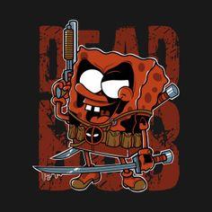 Dead Bob, the most mercenary spongy Deadpool Images, Deadpool Art, Deadpool Funny, Chibi Marvel, Loki Marvel, Boy Illustration, Character Illustration, Illustrations, Deadpool Character