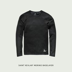 SAINT KEVLAR* ® Merino Double Knit Long Sleeve Baselayer