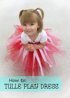 Ben Franklin Crafts & Frame Shop, Monroe, WA: How to: Tulle Play Dress