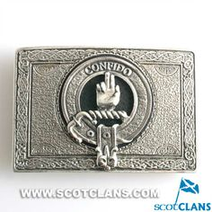 Boyd Clan Crest Kilt Belt Buckle