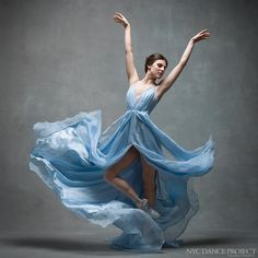 Tiler Peck Principal dancer New York City Ballet Dress by Leanne Marshall. Hair and makeup by Juliet Jane.