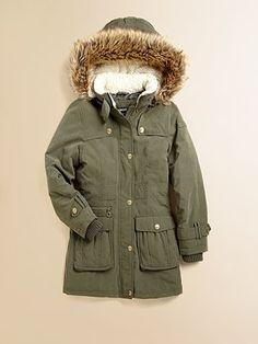 DKNY Girl's Anorak Jacket