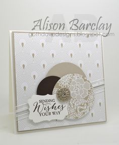 Gothdove Designs - Alison Barclay - Stampin' Up! Australia - Create with Connie & Mary Thursday Sketch Challenge - Something Borrowed DSP #stampinup #somethingborrowed #stampinupaustralia