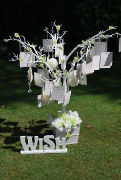Wishing tree...love this one!