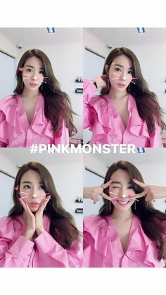 Pink monster Tiffany