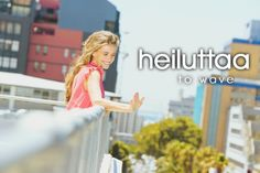 heiluttaa ~ to wave Language Study, Second Language, Helsinki, Learn Finnish, Finnish Words, Finnish Language, Wave, Traveling, Europe