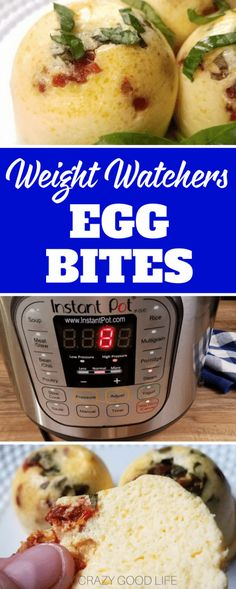 These Weight Watchers egg bites are a spinoff of the Starbucks Sous Vide egg bites. This is a much healthier and more affordable option that you can make at home. #weightwatchers #recipes #freestyle via @bludlum