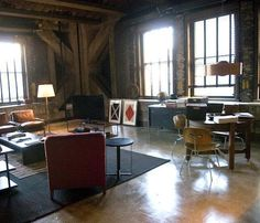 loft owned by Matt Damon's character in The Adjustment Bureau,