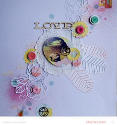#papercraft #Scrapbook #layout.  XO (main kit only) by celestev at @studio_calico