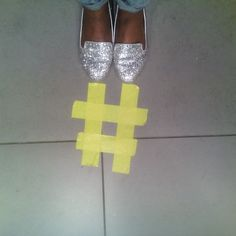#silver slippers