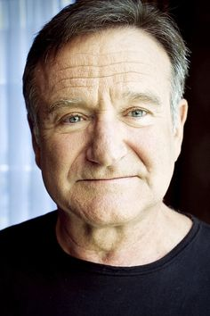 Robin Williams (1951-2014)  My heart brakes to see that this talented man has passed on.