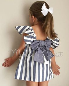 Kids Summer Dresses, African Dresses For Kids, Dresses Kids Girl, Kids Outfits Girls, Girl Outfits, Baby Girl Dress Patterns, Baby Dress Design, Kids Frocks, Frocks For Girls