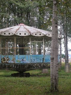 Abandoned amusement park by intjenya on Flickr.