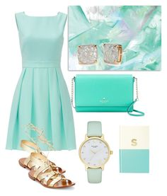 """Untitled #482"" by capm ❤ liked on Polyvore featuring Kate Spade"