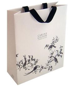 luxury paper bags with ribbon handles Tea Packaging, Luxury Packaging, Packaging Design, Branding Design, Paper Packaging, Packaging Ideas, Shopping Bag Design, Paper Shopping Bag, Paper Carrier Bags