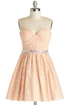 915fbccc Gleeful Glamour Dress. You smooth the lacy overlay of your party dresss  balletic skirt with. ModCloth