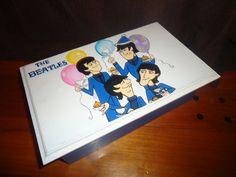 """Caja tipo cofre """" The Beatles"""" Especial personalizada cumpleaños nro.60"""