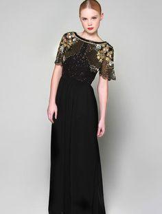VIRGOS LOUNGE BLACK WEDDING COCKTAIL EVENING PARTY MAXI DRESS UK10 EUR38 US6    eBay